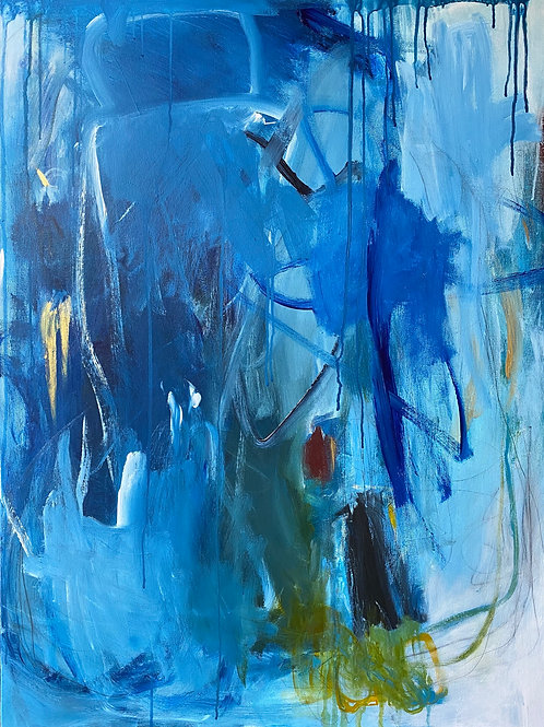 """Once In A Blue Moon 30""""x40"""""""