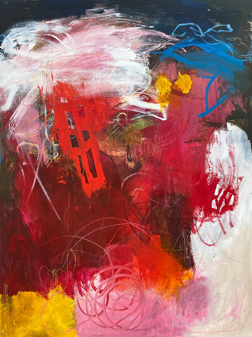 """Beauty Is Not Bound 36""""x48"""""""
