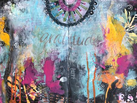 Inspired Gratitude - Art Journal Workshop
