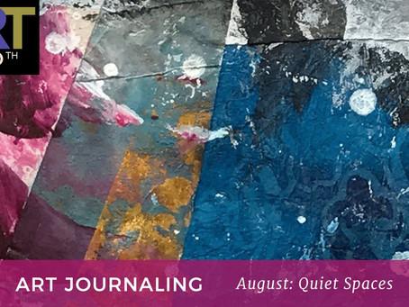 Quiet Spaces: Art Journaling Workshop