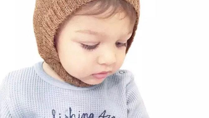 Deer knit beanie