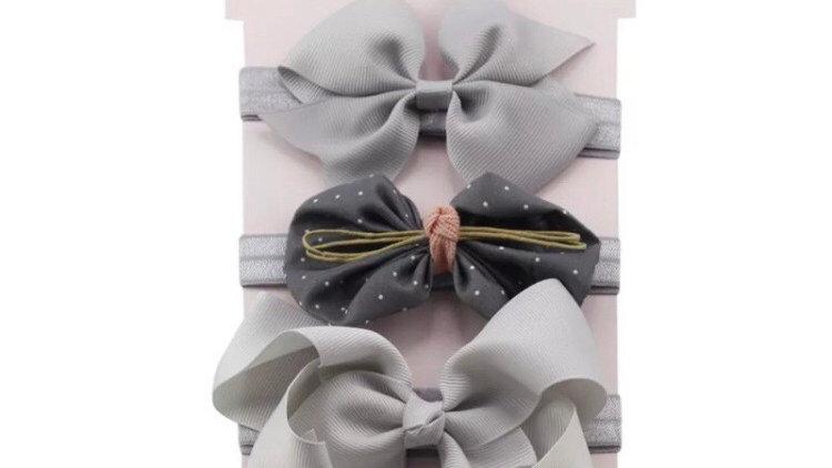 Headbands set of three