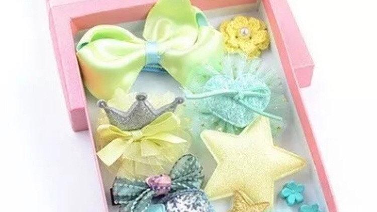 Hair pin gift box