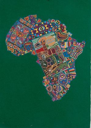 שטיח רקום אפריקה