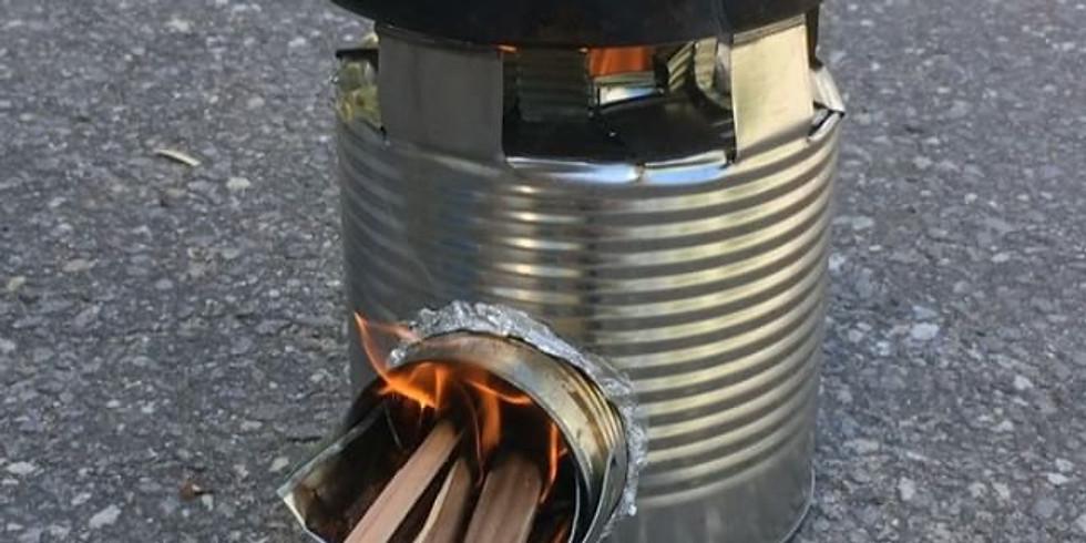 Tin Can Rocket Stoves