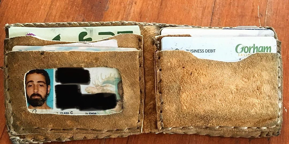 Buckskin Leather Wallets (1)