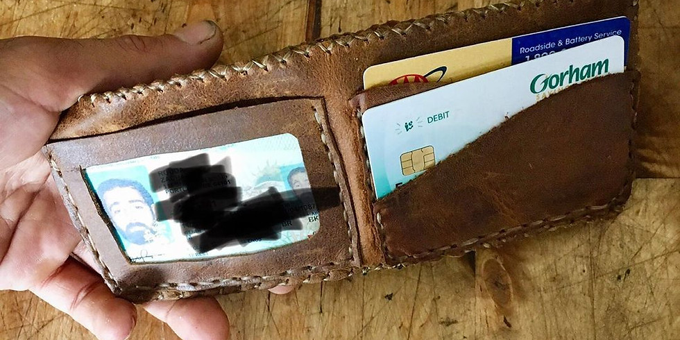Making Leather Wallets