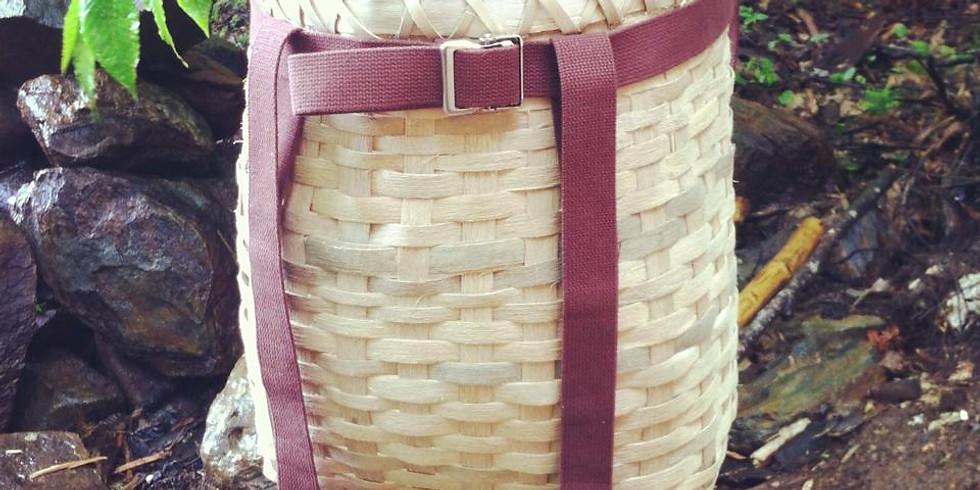 Ash Splint Pack Baskets