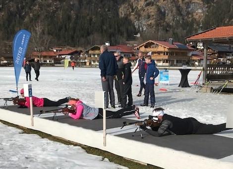 Rollskisport Hallertau - Biathlon.