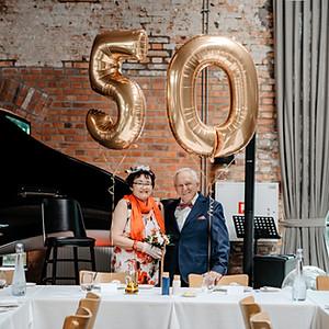 50-ta rocznica ślubu Basi i Jurka