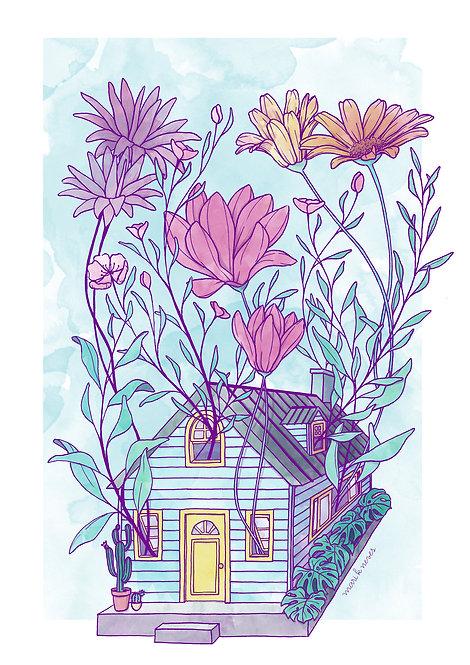 Ilustração Crescimento