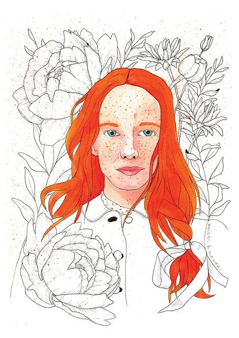 Ilustração Anne whit an E 3