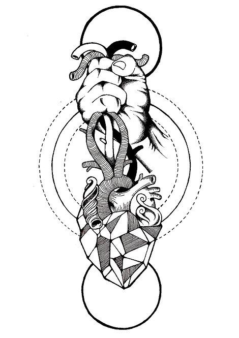 Ilustração Arrancar Corações