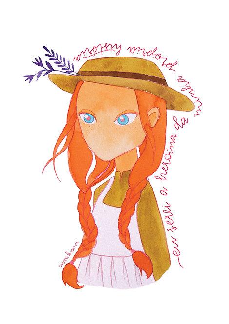 Ilustração Anne whit an E 1
