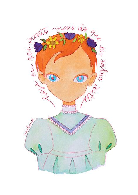 Ilustração Anne whit an E 2
