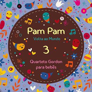 Quarteto Gordon, Pam Pam 3, Volta ao Mundo
