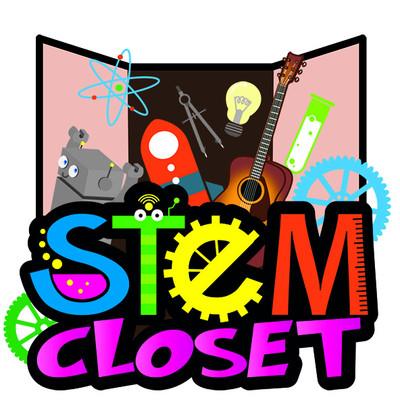STEM closet Logo Design