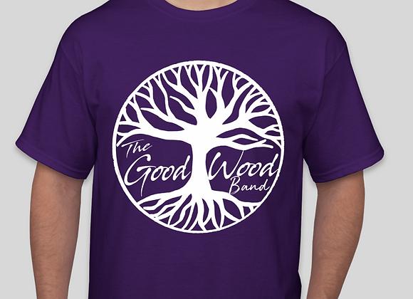 The Good Wood Band T-Shirt - Purple