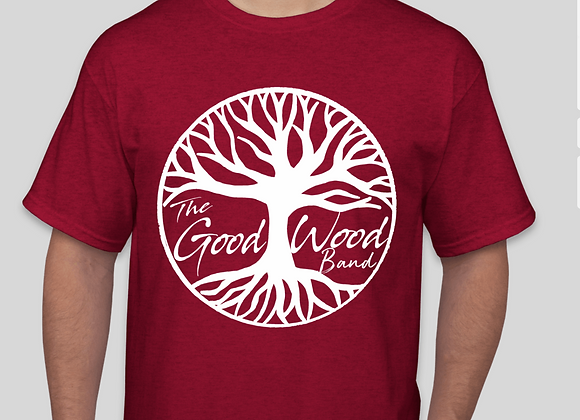 The Good Wood Band T-Shirt - Red