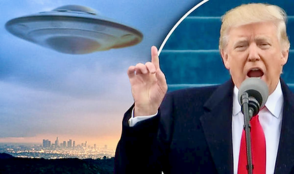 Trump Alien 2, bigger, enhanced with Pho