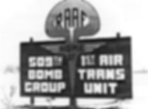 Roswell Army Air Field (RAAF) sign