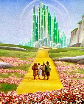 Wizard of Oz, Yellow Brick Road, Emerald City
