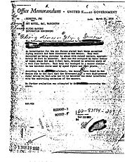 Hottel Mar 22 1950 memo
