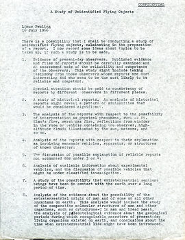 Linus UFO study p1