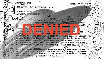 UFO Denied