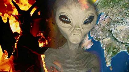 Alien Devil, 1280x720, enhanced with Pho
