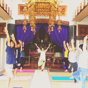 【禅寺でヨーガ10月】感謝と愛で胸がいっぱい✨ありがとう✨11月スケジュール