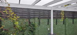 Weave Design Wall Extension