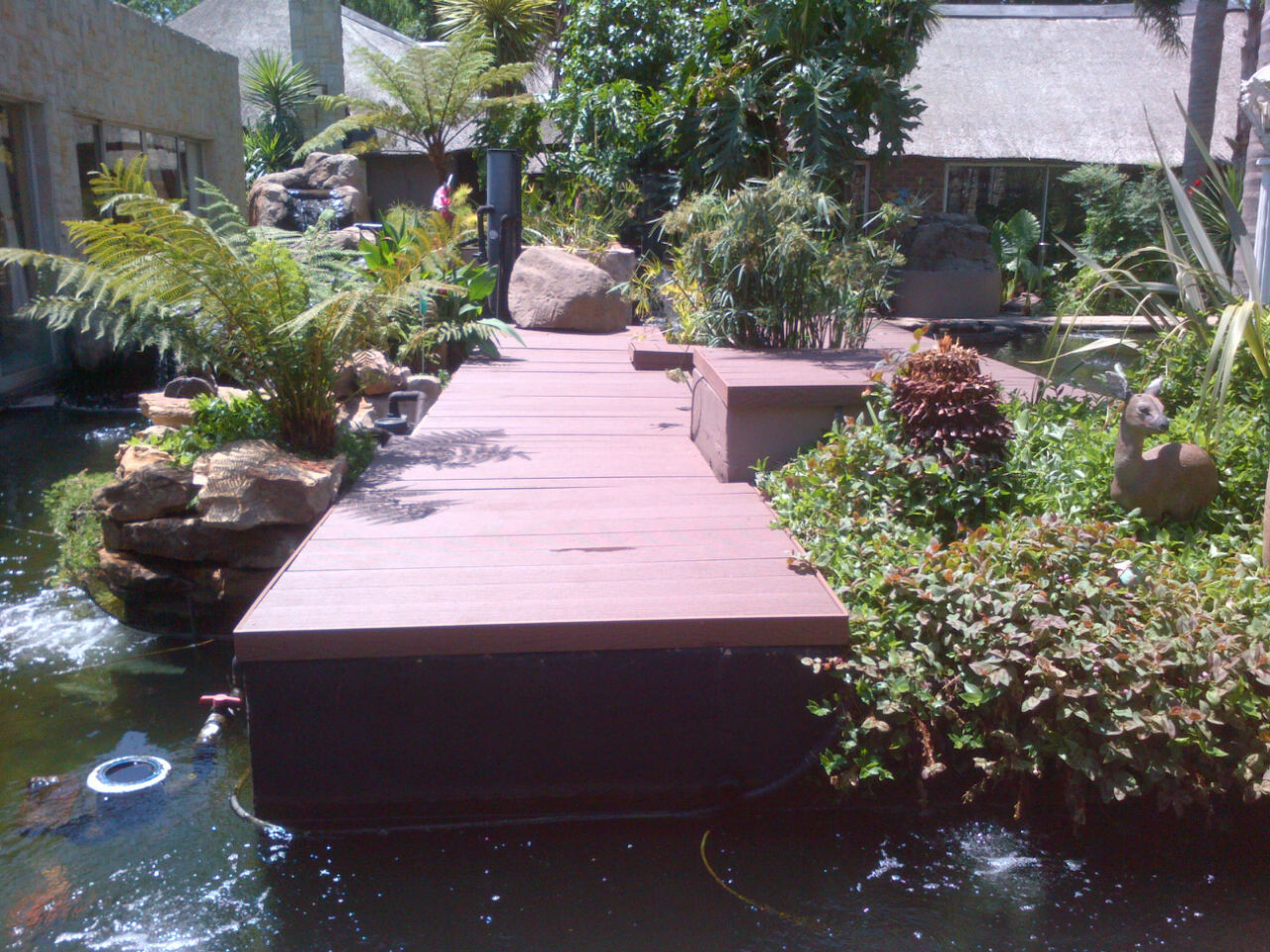 Nudek wood plastic composite decking