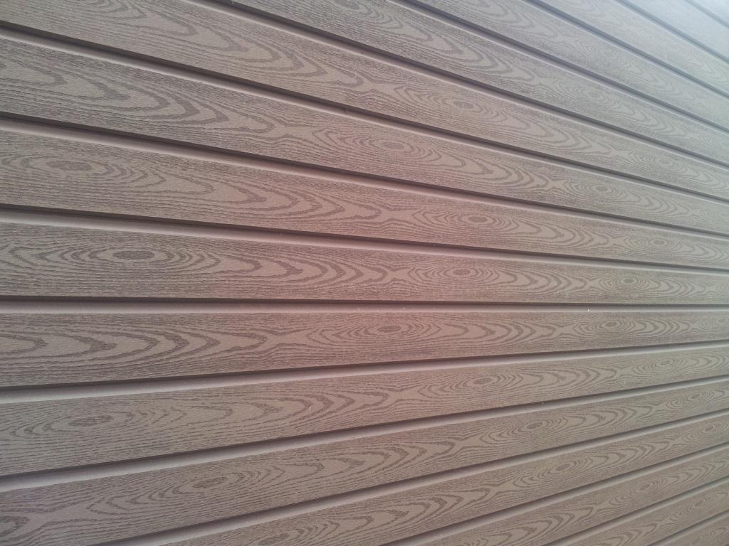 T&G wall cladding