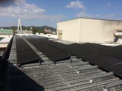姫路市 食品工場屋根上 現地写真1