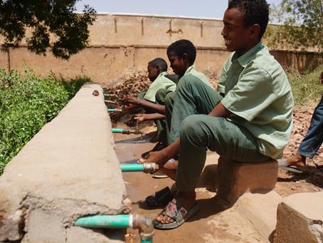 学校に水が通った!スーダンの小学校に水のアクセスを