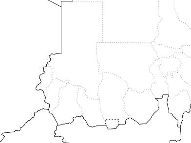 スーダン活動地
