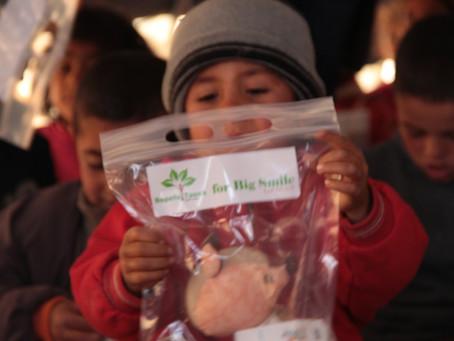 シリア難民の子ども達へハッピートイズ!