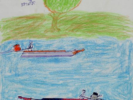 水上コミュニティの子ども達は学校が大好き