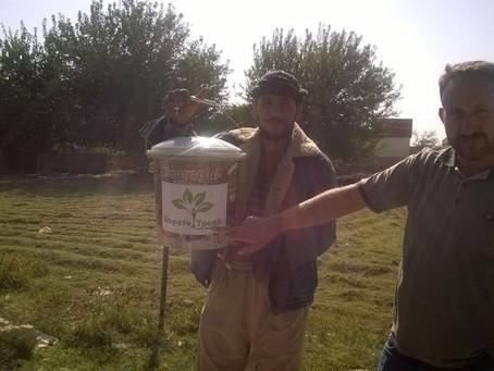 シリア人家族300世帯に衛生品を配布