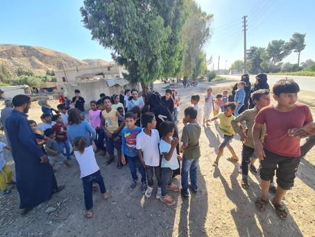 シリアの子ども達の「楽しい」を増やすために