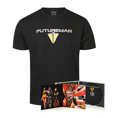 T-SHIRT AND CD COMBO