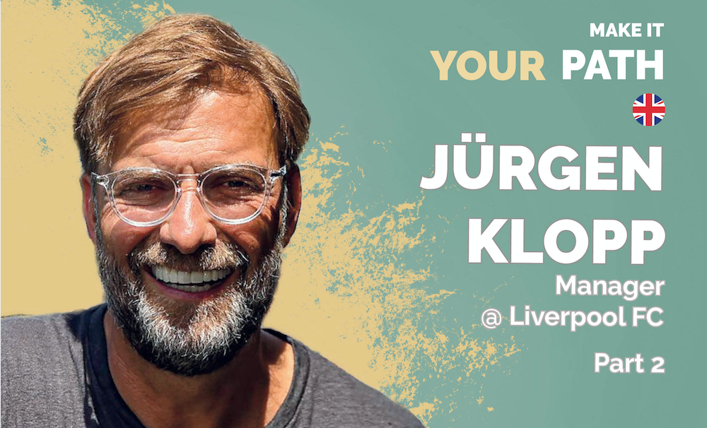 Jürgen Klopp in an interview with Gina Friedrich