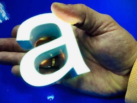 Объемные световые буквы, что это ?