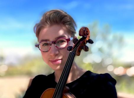 Meet Meghan Ruel, violin instructor at Harmony Project Phoenix