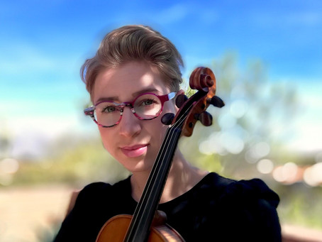 Meet Meghan Ruel, violin instructor at Harmony Project Phoenix