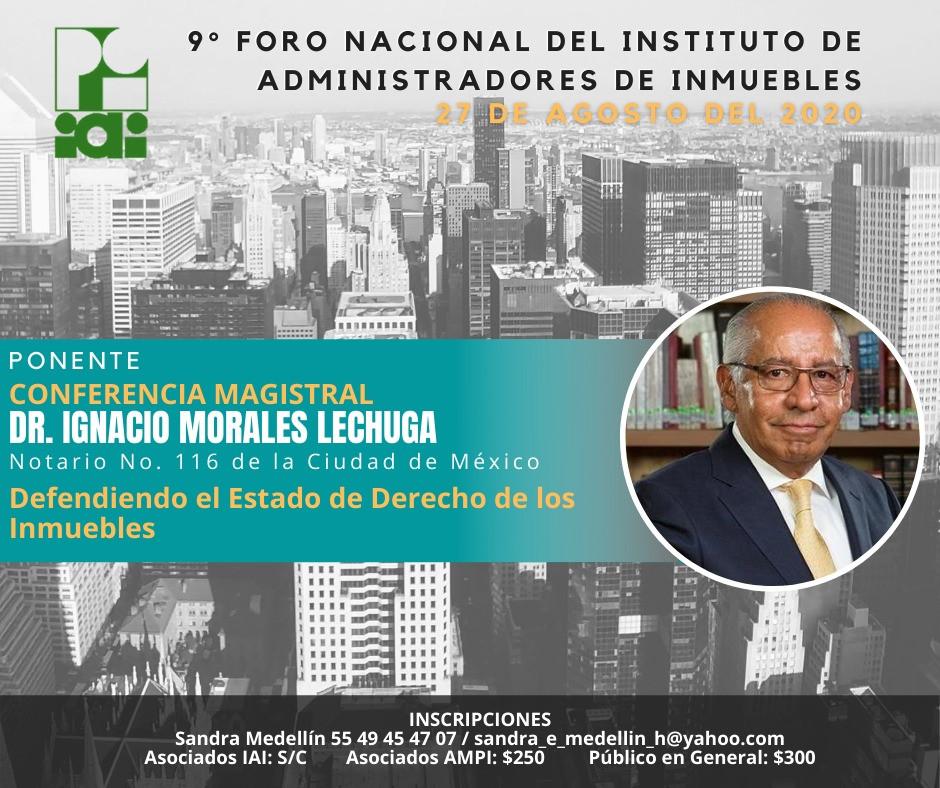 Dr. IGNACIO MORALES LECHUGA