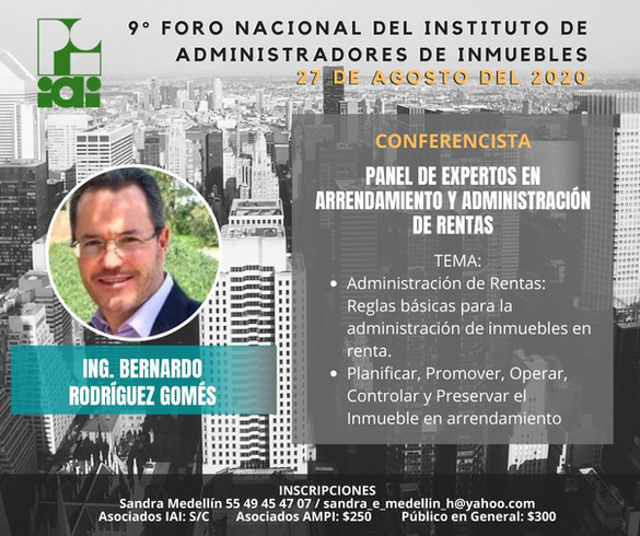 ING. BERNANDO RODRIGUEZ G.