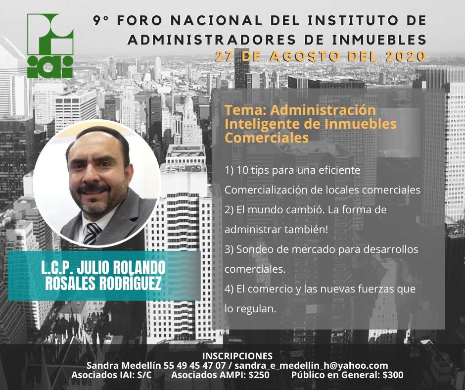 L.C.P. JULIO ROLANDO ROSALES R.