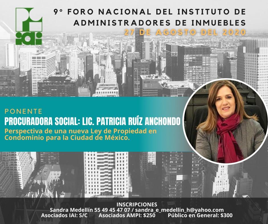 Lic. PATRICIA RUIZ ANCHONDO